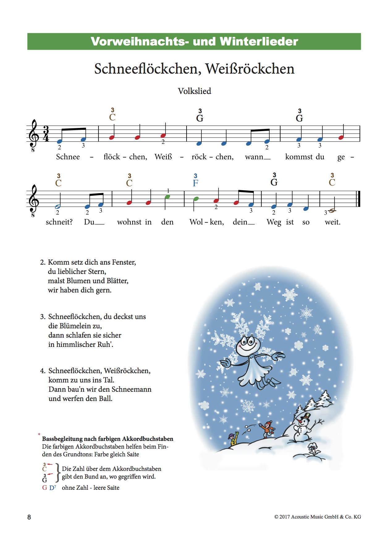 Weihnachtslieder für Gitarre (inkl. CD) - Bunte Noten